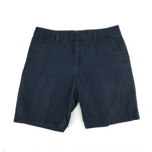 Tommy Hilfiger Bermuda Short Sz 8 Navy Blue Cotton